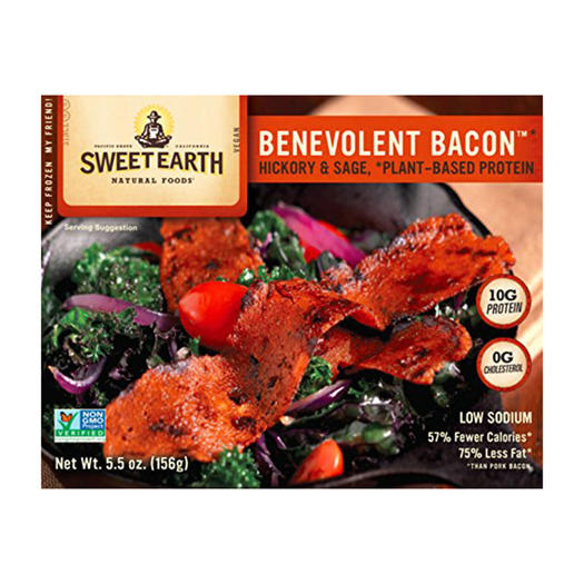 benevolent bacon vegan faux meat