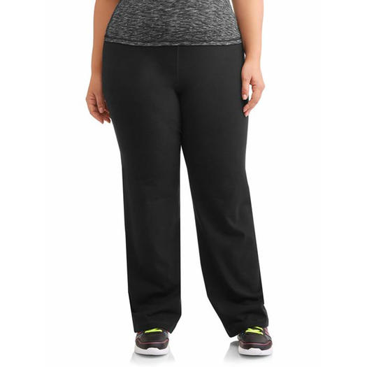 Athletic Works Women s Plus Dri More Bootcut Pant 4b22d27eb6
