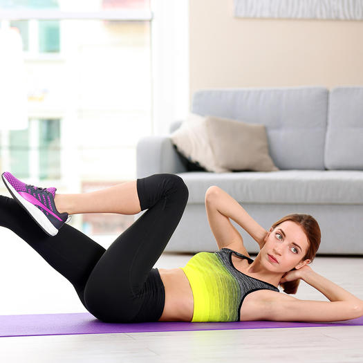 how to get abs with bicycle crunches