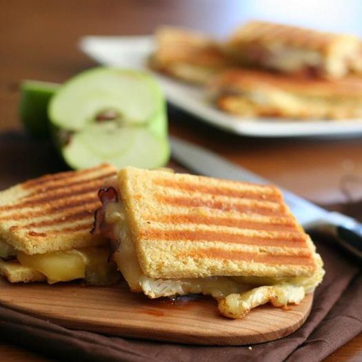 brie ham and apple panini low carb recipe