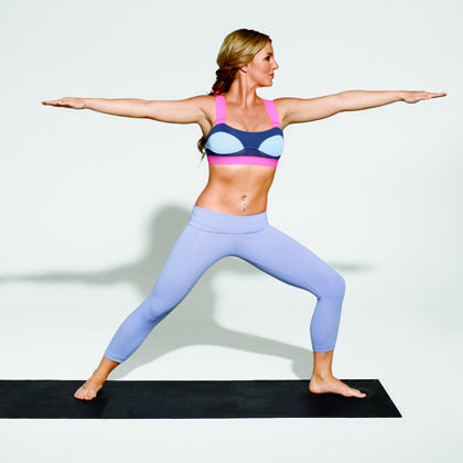 britney spears' yoga workout plan  shape magazine