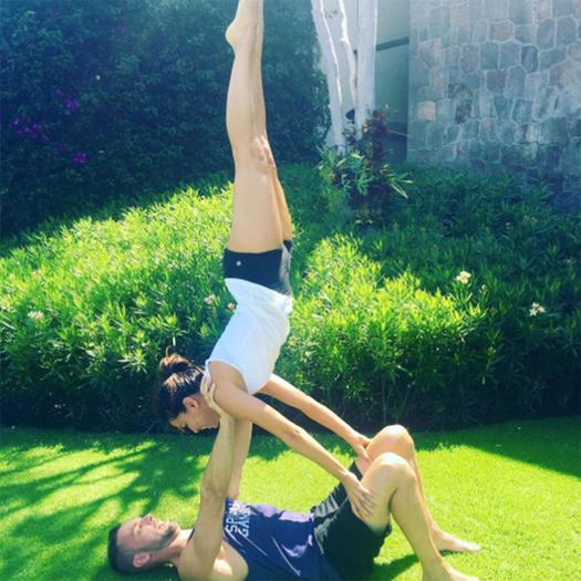 The Best Instagram Photos Of Celebrities In Yoga Poses