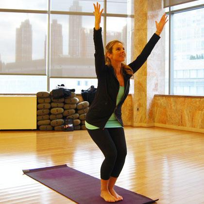 vinyasa yoga flow for a workout playlist  shape magazine