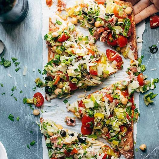 Salad Pizza Recipes Are the Latest (and Prettiest) Healthy Food Trend
