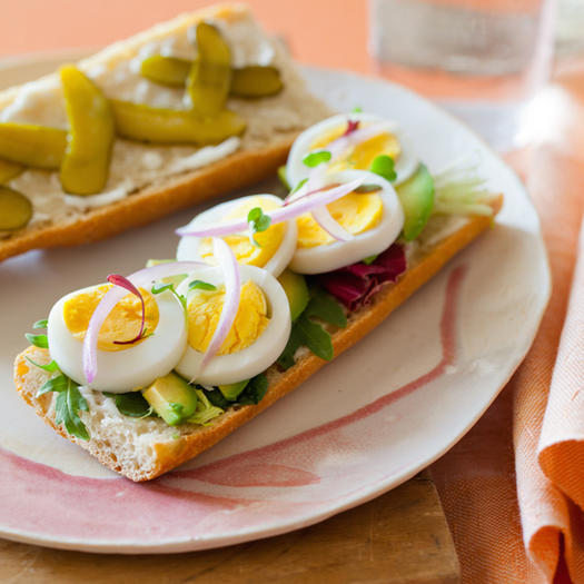 Deconstructed Egg Salad Sandwich