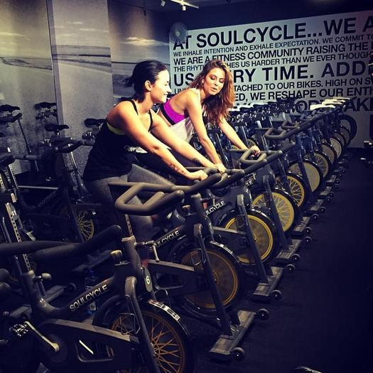 Fit Celebrities Who Love Spinning Shape Magazine