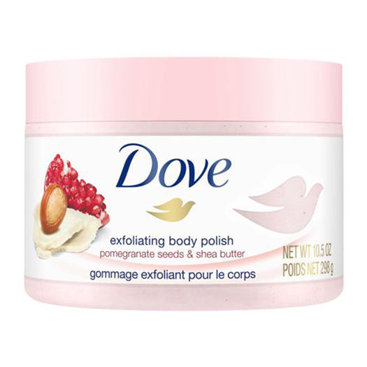 best body scrub dove exfoliating body polish