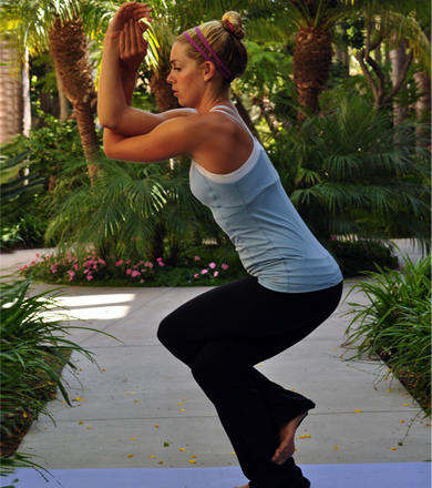 the best yoga poses for athletes  shape magazine
