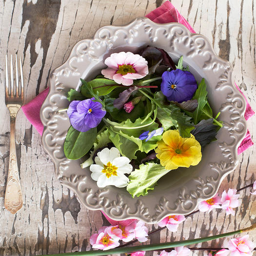 Recipes that use edible flowers shape magazine how to safetly eat edible flowers mightylinksfo