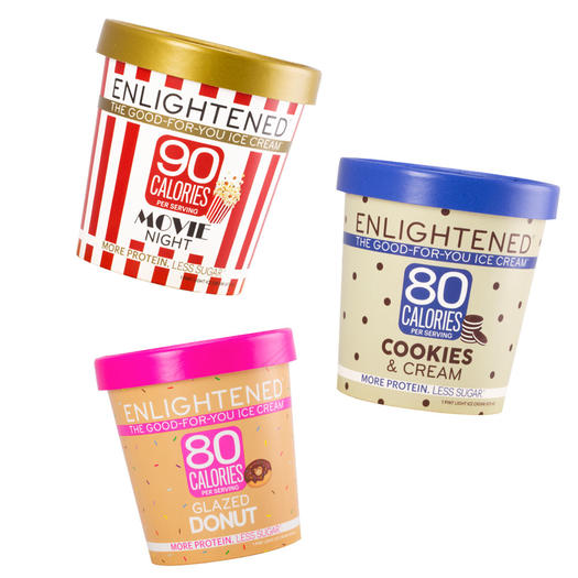 enlightened low-calorie high-protein ice cream