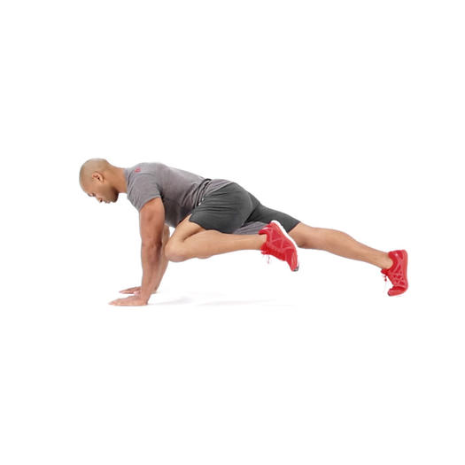 4 Plank With Knee To Elbow