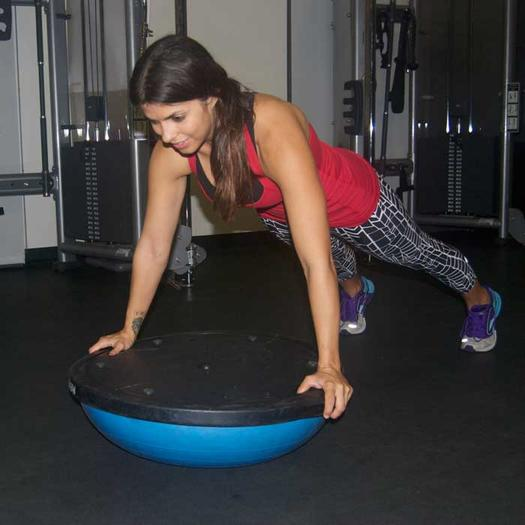 Plank Using Fit Ball And Bosu Ball: Ab Workout: 10 Plank Exercise Variations For A Strong