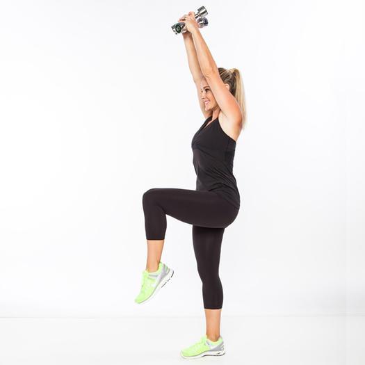 4. Equilibrar la extensión del tríceps