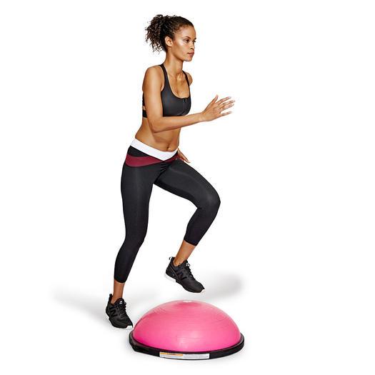 Bosu Ball Side Hops: Advanced Bosu Ball HIIT Workout To Train Like An Athlete