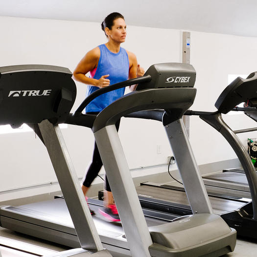 how to set speed interval on treadmill