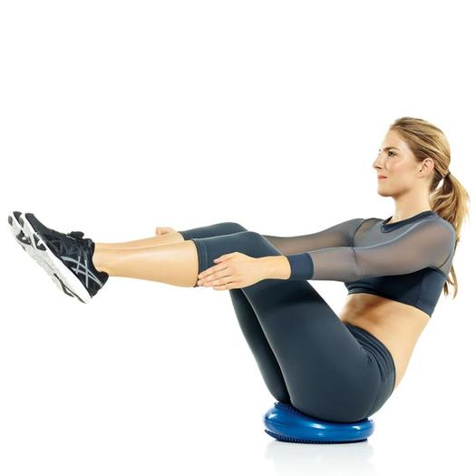 V Sits Exercise Disc Exercises: Total-...