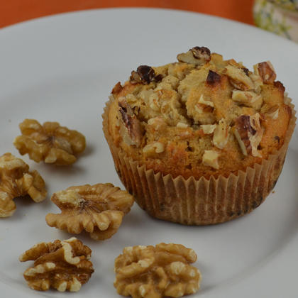 Dessert recipes low calorie desserts for one shape magazine honey walnut cupcake forumfinder Images