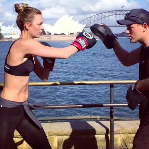 Martial Arts Trend: Celebrity Workouts