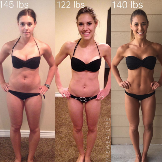 11 Women Who Have Gained Weight and Are Healthier Than Ever