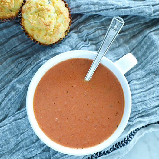 keto tomato basil soup recipe