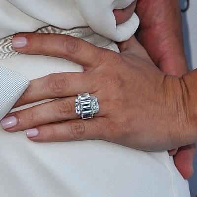 10 Celebrity Engagement Ring Trends PHOTOS Shape Magazine