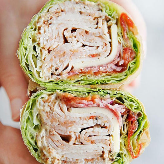 lettuce wrap low-carb sandwich recipe