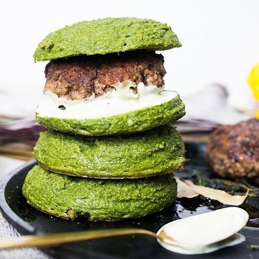 low-carb burger buns keto