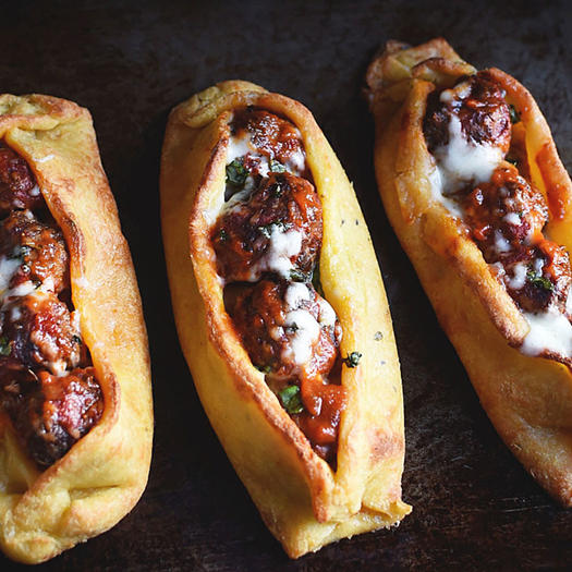 low-carb keto meatball sub