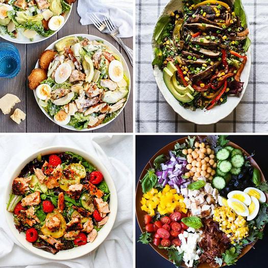Salad Recipes For Dinner: Healthy Dinner Ideas