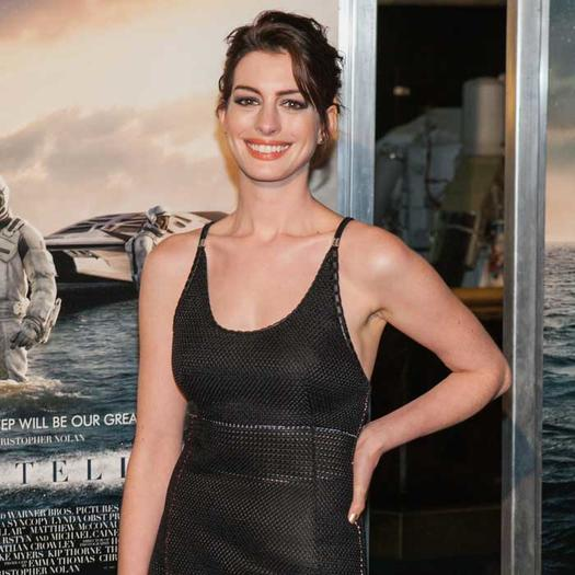 Anne Hathaway Ellen Drinking: Celebrity Advice: How 9 Hollywood Stars Stay Confident