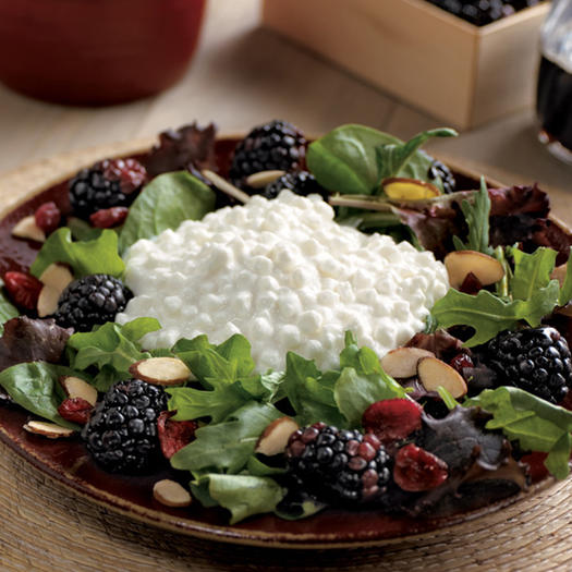 Blackberry Cottage Cheese Salad