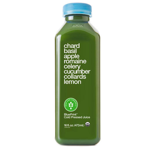 Health drinks 5 new vegetable juices and fruit blends we love blueprint juice chard basil juice malvernweather Images