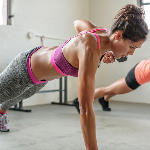10 simple fitness tips to amp your weight loss results shape swap some cardio for weight training ccuart Choice Image
