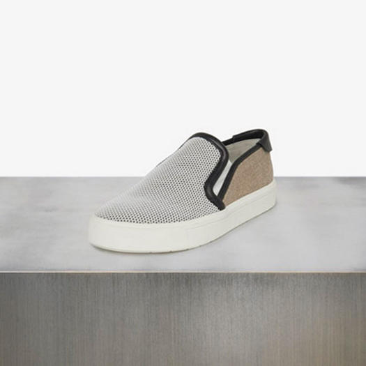 48cd77b6f4 Vince Leather Trimmed Sneaker