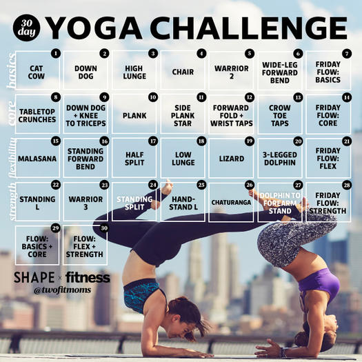 Try Our 30 Day Yoga Challenge