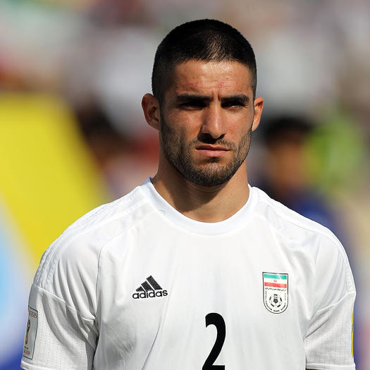 Milad Mohammadi hot soccer player world cup