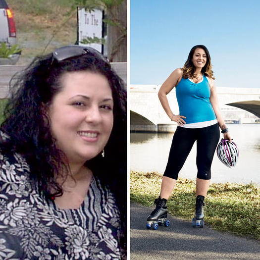 Weight loss by walking alone