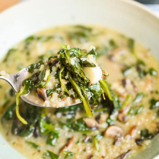mushroom keto soup