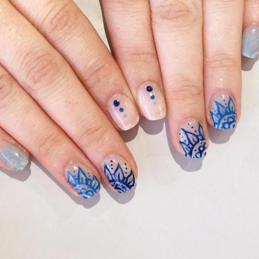 Nail art zen