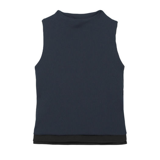 Live the Process Ribbed Stretch-Jersey Top