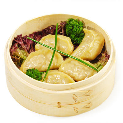 Healthy chinese food dumplings