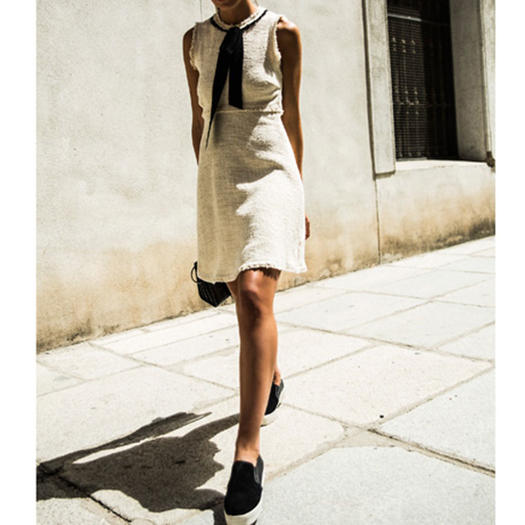 f5955f057e2 13 Types of Dresses You Can Wear with Sneakers