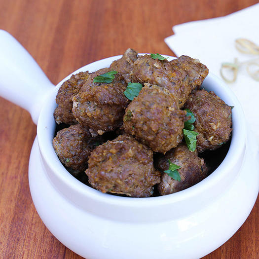 Food network hosts famous chefs best recipes from mom shape lemon thyme meatballs forumfinder Choice Image