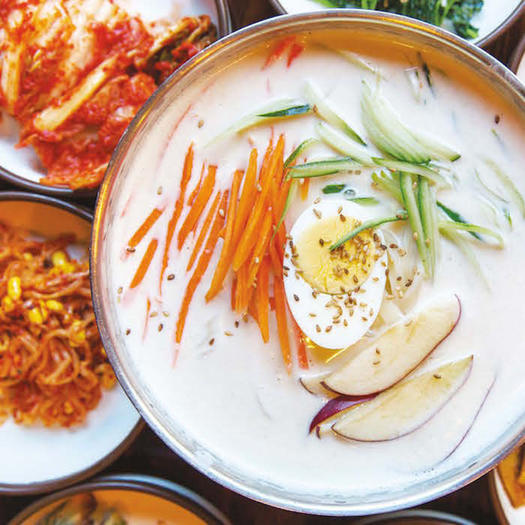 9 healthy korean recipes you can make at home shape magazine soy milk noodle soup forumfinder Choice Image