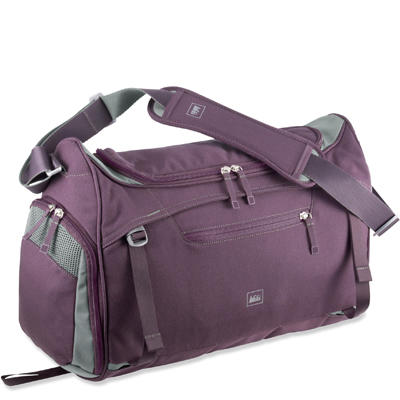 2 of 12. All photos. You d never believe it because this REI Balance Gym Bag  ... 3b1c413f8602c