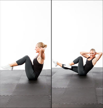 fast abs workout 5minutes to a flat stomach  shape magazine