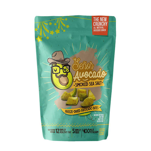 freeze dried avocado keto snack from amazon