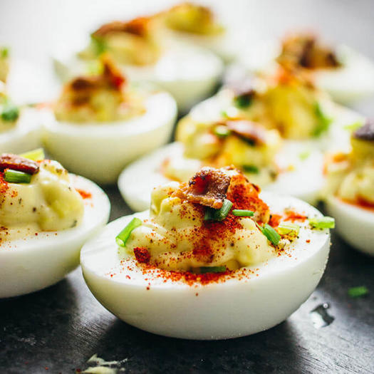 Healthy Deviled Egg Recipes