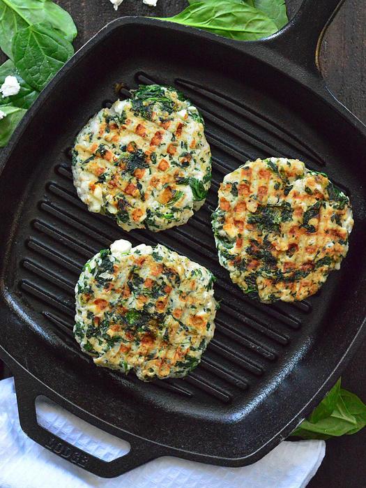 High protein ground turkey recipes for dinner shape magazine spinach feta turkey burgers forumfinder Choice Image