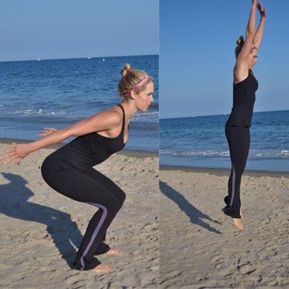 noequipment workout routine get slim for summer  shape